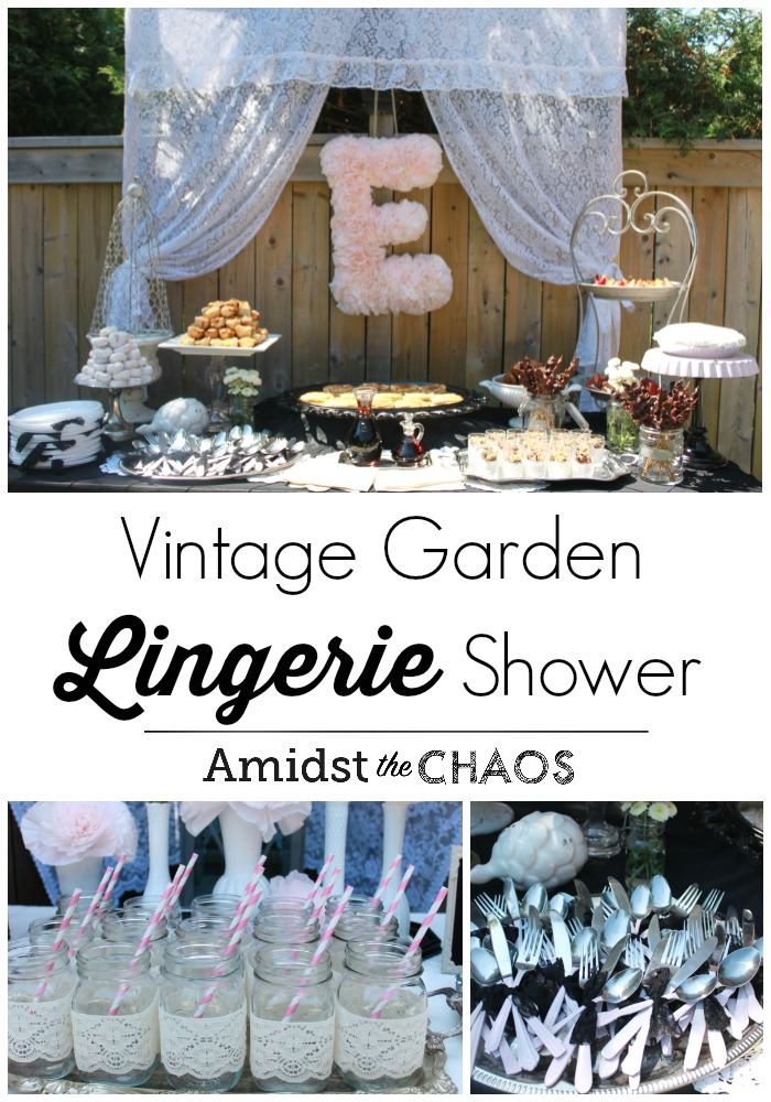 Vintage Garden Lingerie Shower
