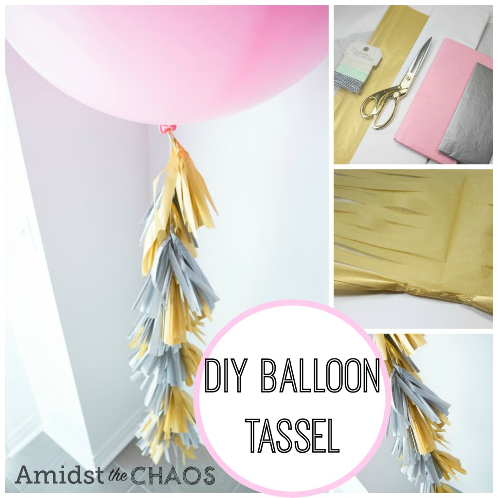 Balloon Tassel DIY