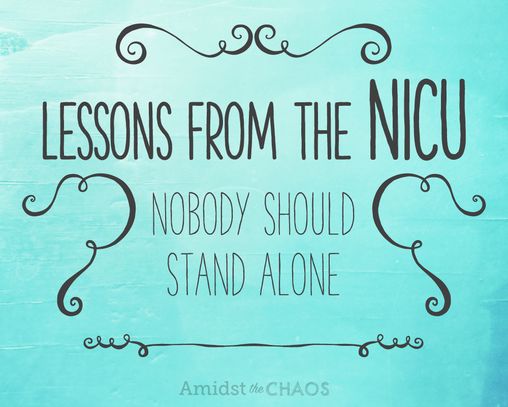 Lessons From The Nicu Amidst The Chaos
