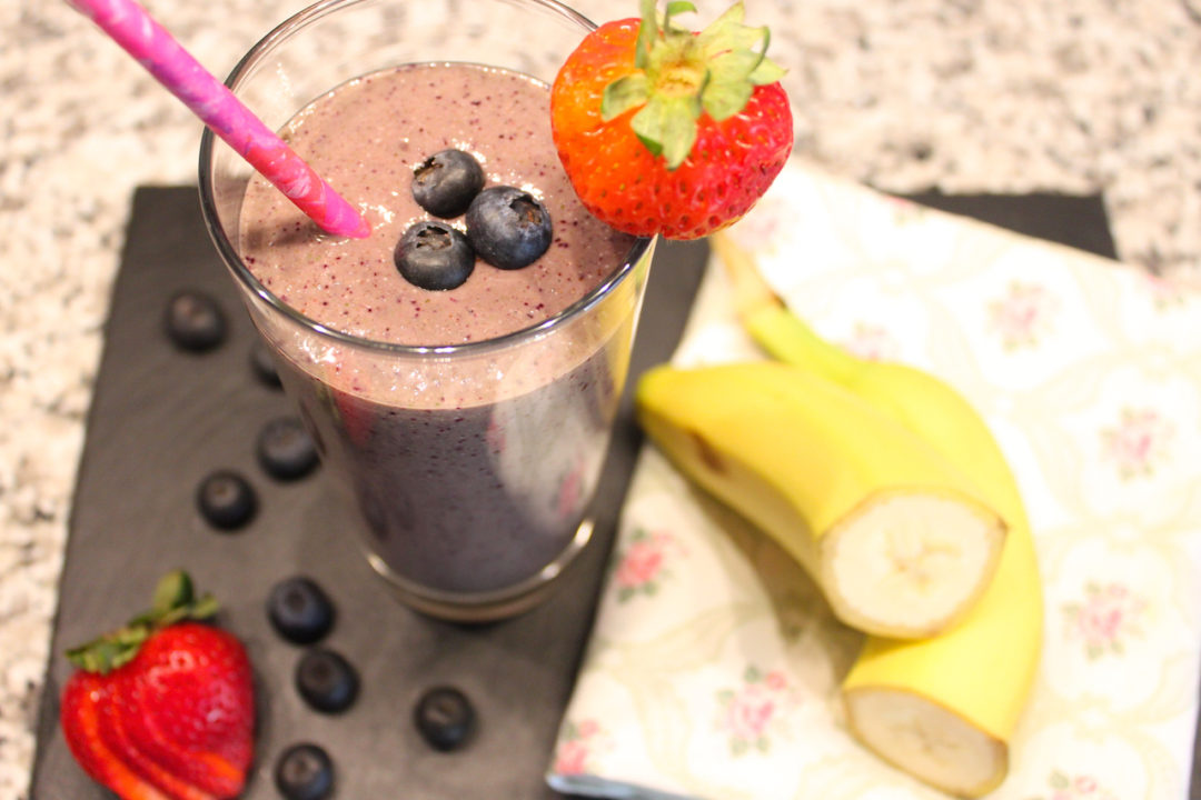 Banana Berry Bliss Smoothie