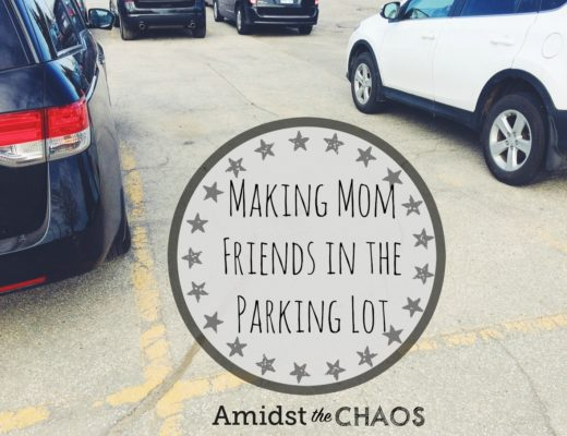 Making Mom Friends in the Parking Lot