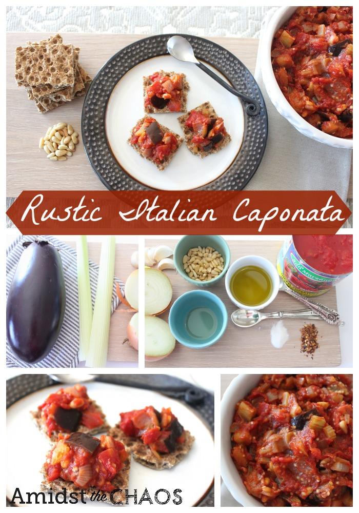 Rustic Italian Caponata