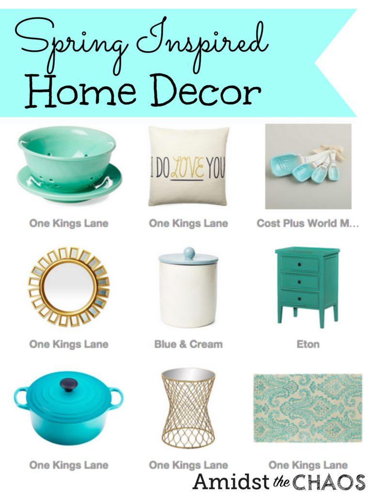 Spring Inspired Home Decor
