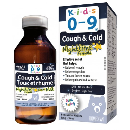 Kids 0-9 Cough & Cold Medicine