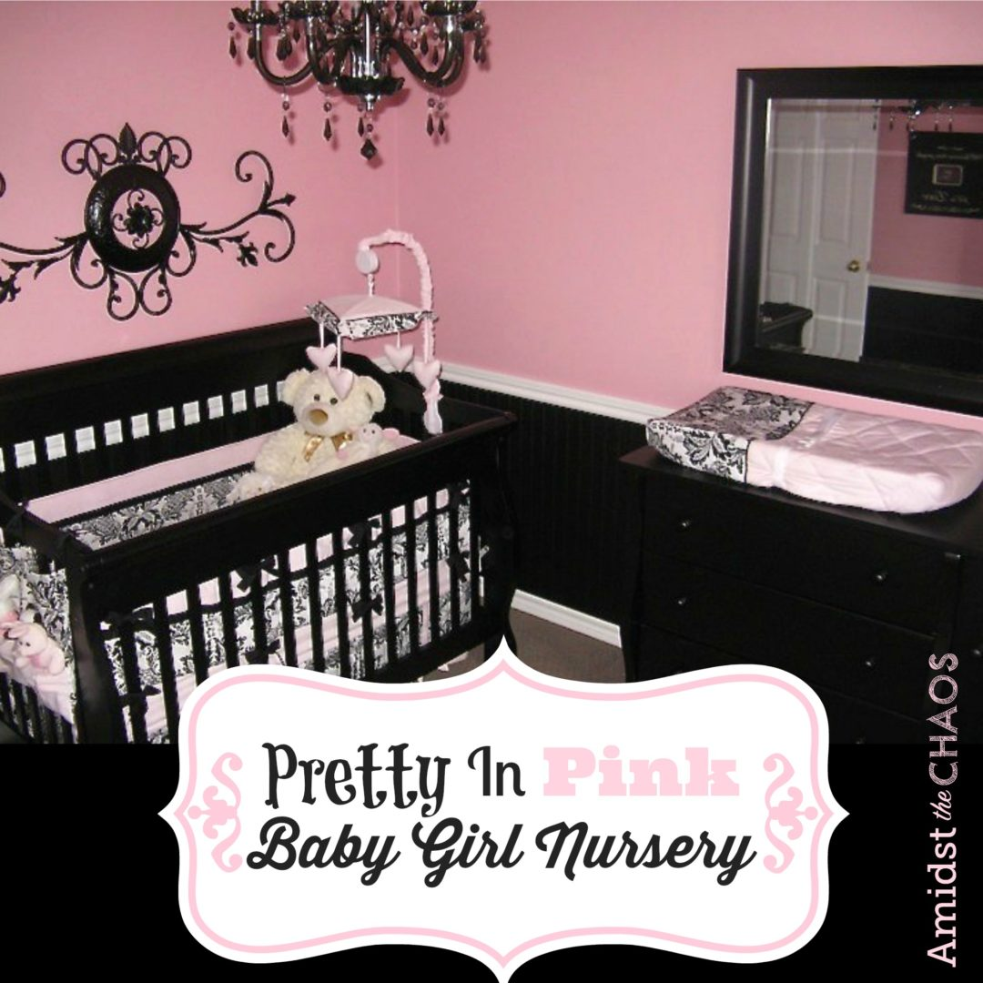 Pretty In Pink Baby Girl Nursery