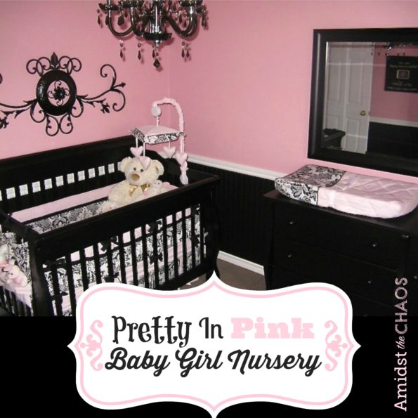 Pretty In Pink Baby Girl Nursery