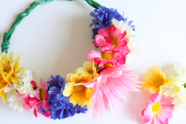 DIY Floral Crown Tutorial