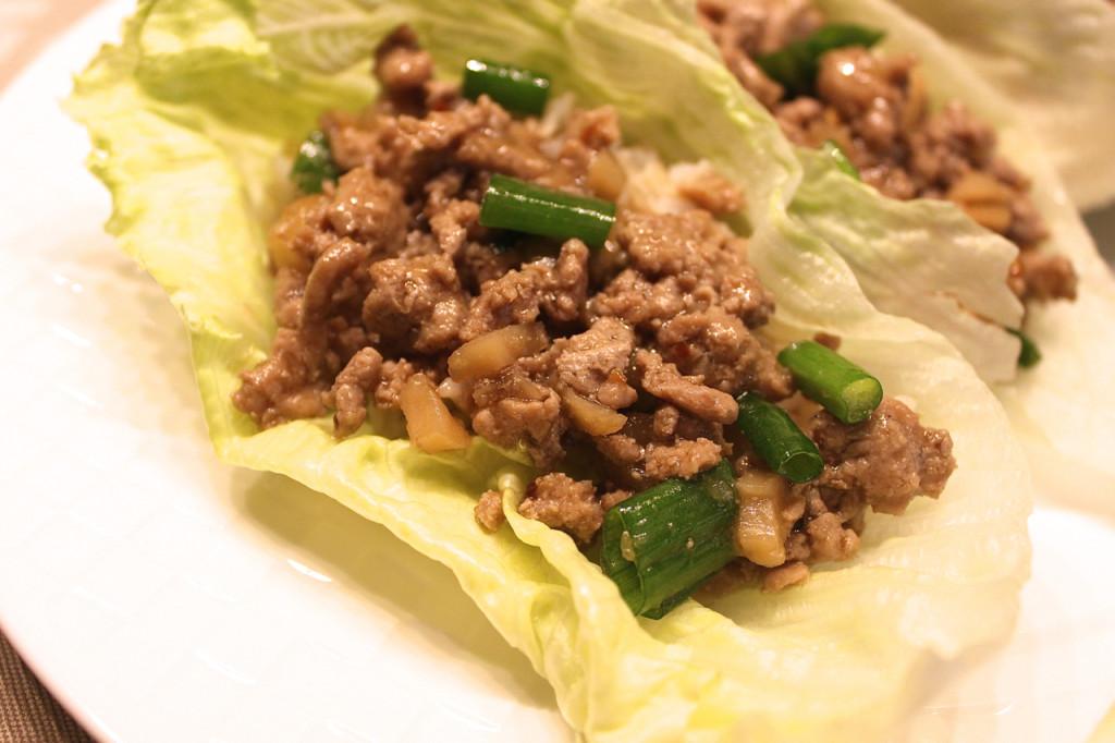 Turkey Lettuce Wraps PF Chang's Inspired