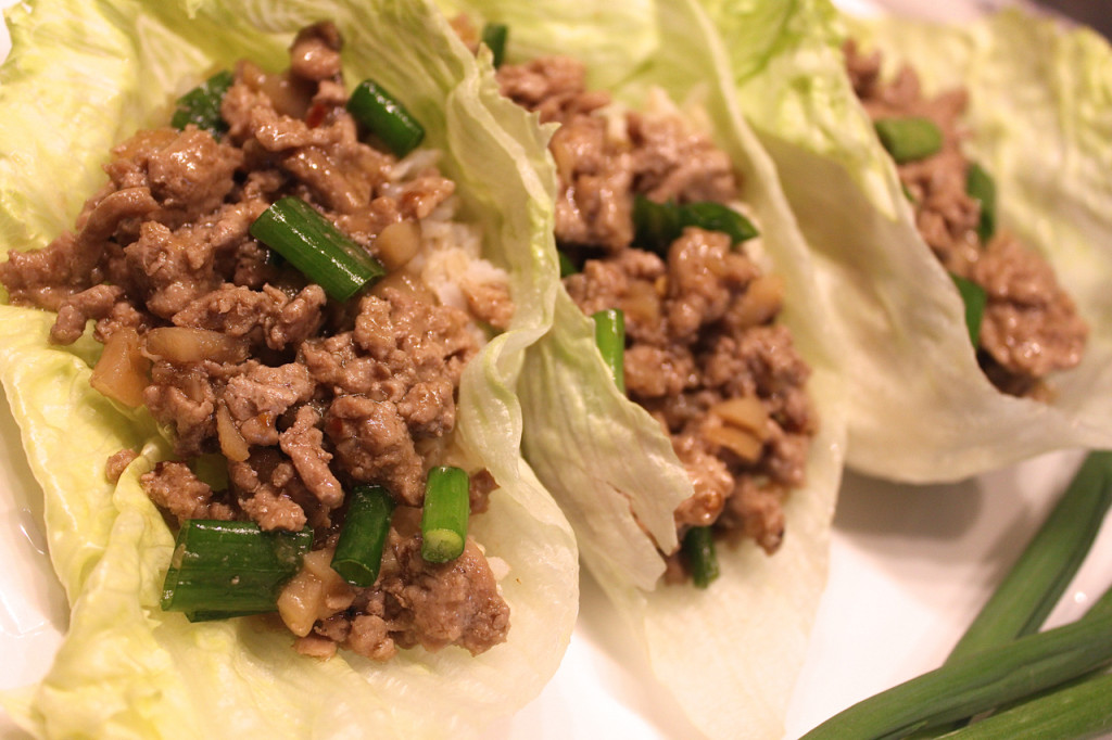 Turkey Lettuce Wraps PF Chang's Inspired