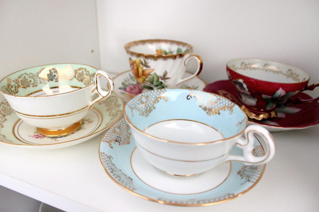 Fine China teacups