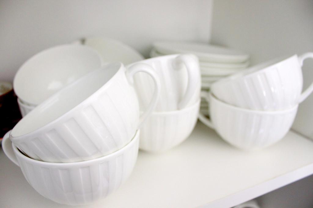 Fine chine teacups