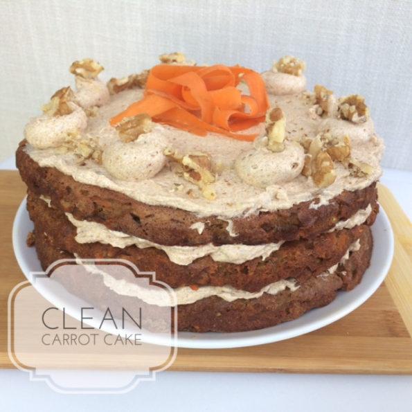 clean carrot cake