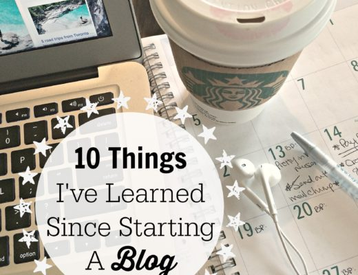 10 Things I've Learned Since Starting a Blog