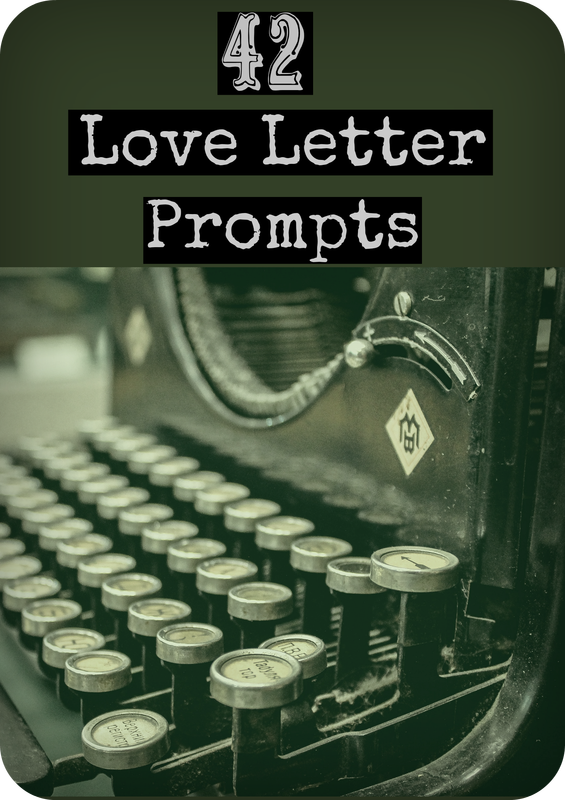42 Love Letter Prompts