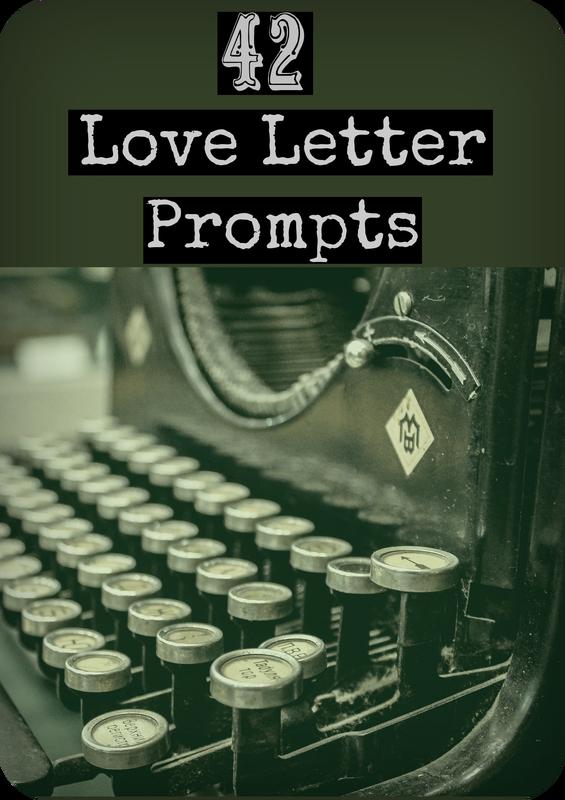 42 Love Letter Prompts