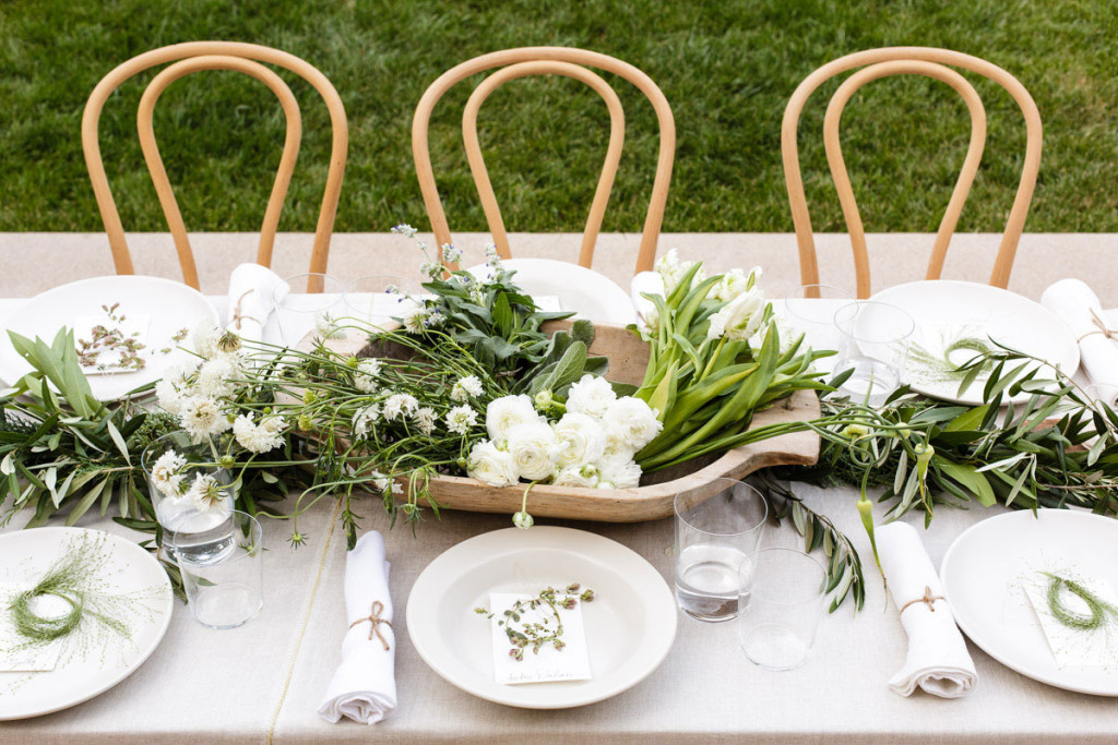 Greek tablescape