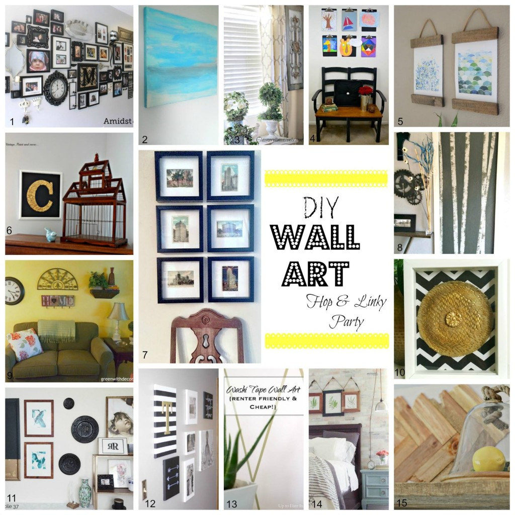 DIY Wall Art Blog Hop