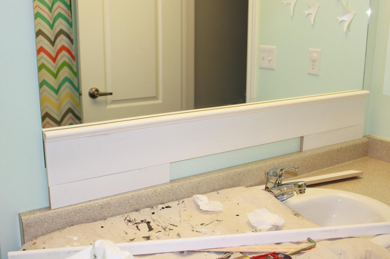 100 Builder Grade Bathroom Mirror How To Frame A