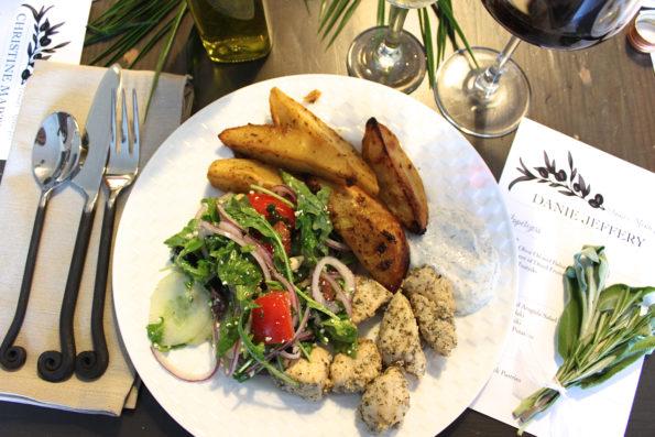 Greek Dinner Party