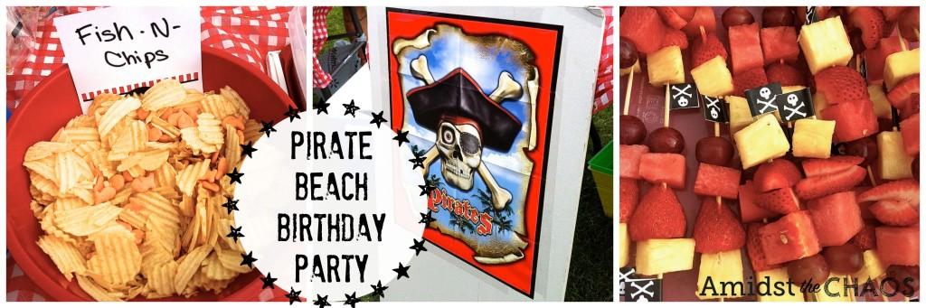 Pirate Beach Birthday Party
