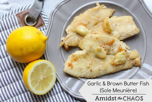 Garlic and Brown Butter Fish
