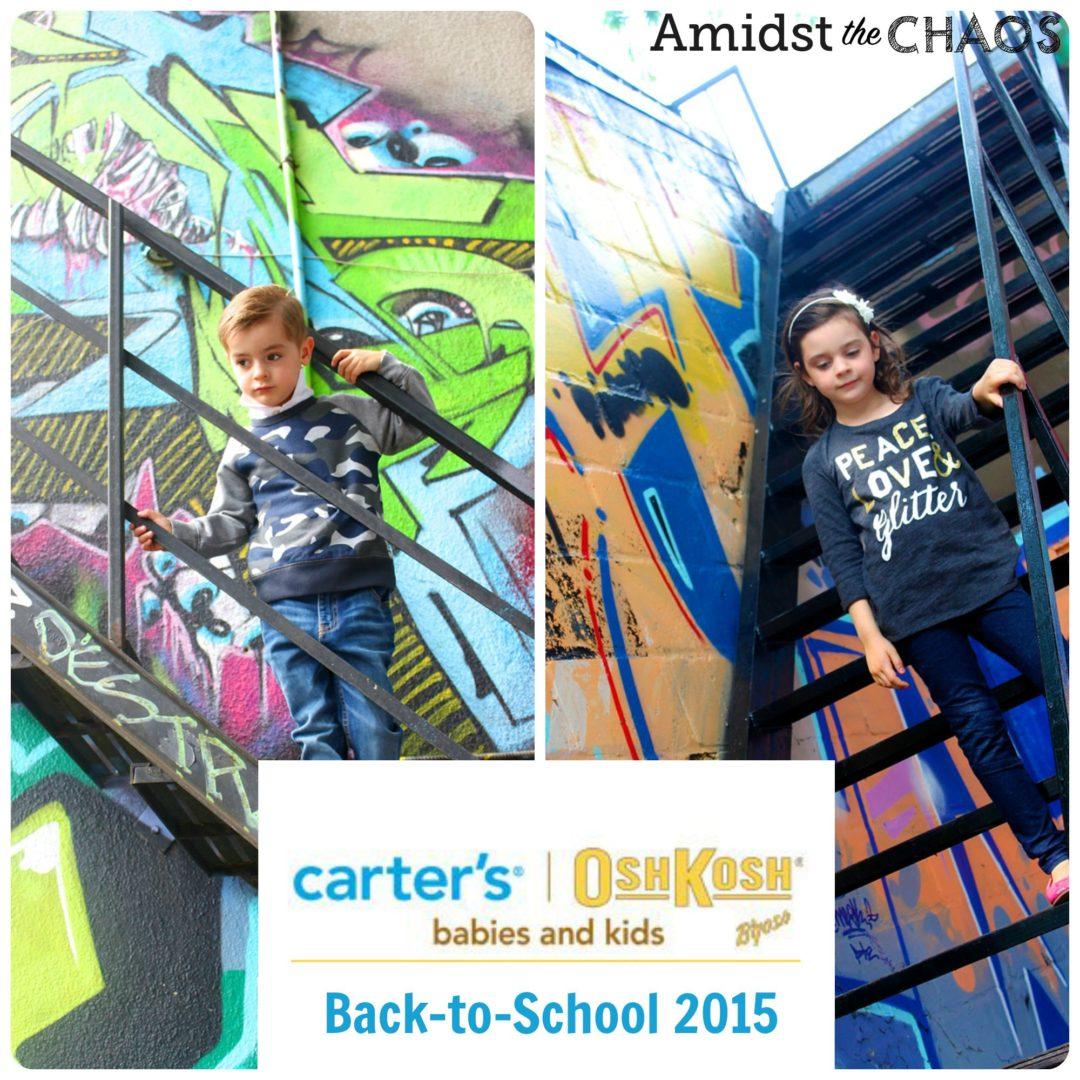 Back to School Carter's | OshKosh B'Gosh