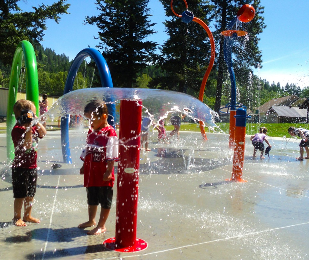 Lumby Spray Park June 6 2013
