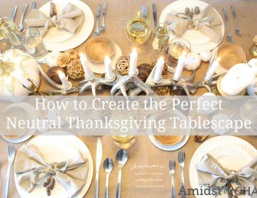 How to Create the Perfect Neutral Thanksgiving Tablescape
