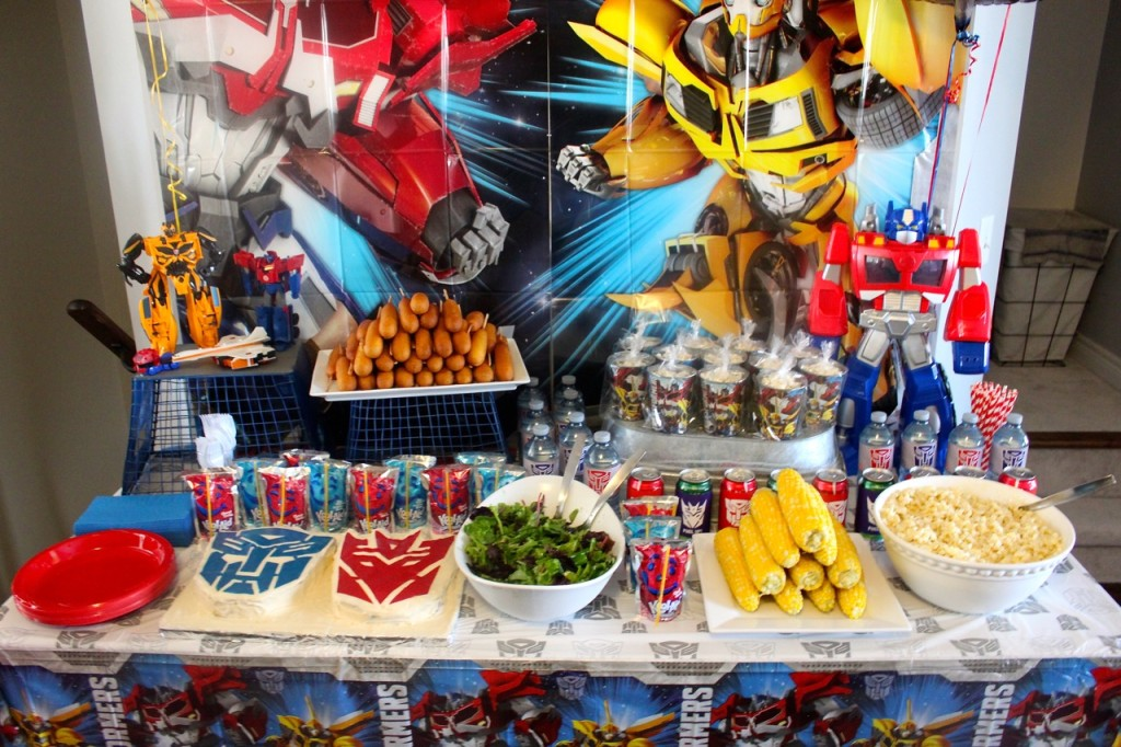Transformer Party Food Ideas Unique Birthday And Themes