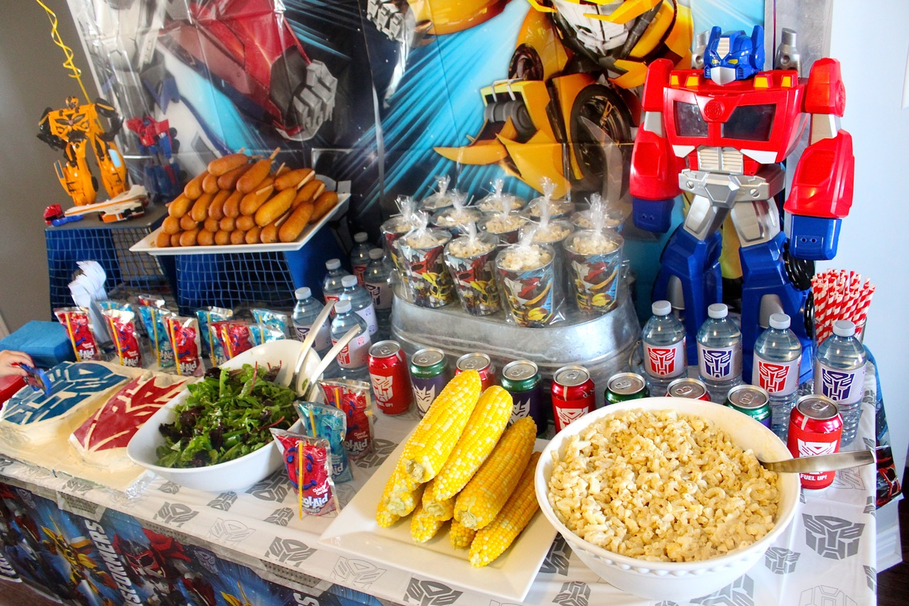 Transformers Birthday Party Amidst The Chaos