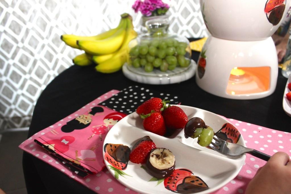 Fancy Afterschool snack + kids tablescape