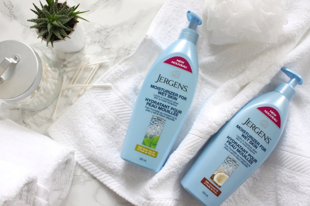 Jergens Moisture for Wet Skin Lotion
