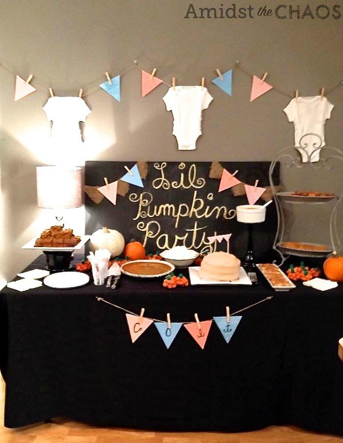 Lil Pumpkin Party