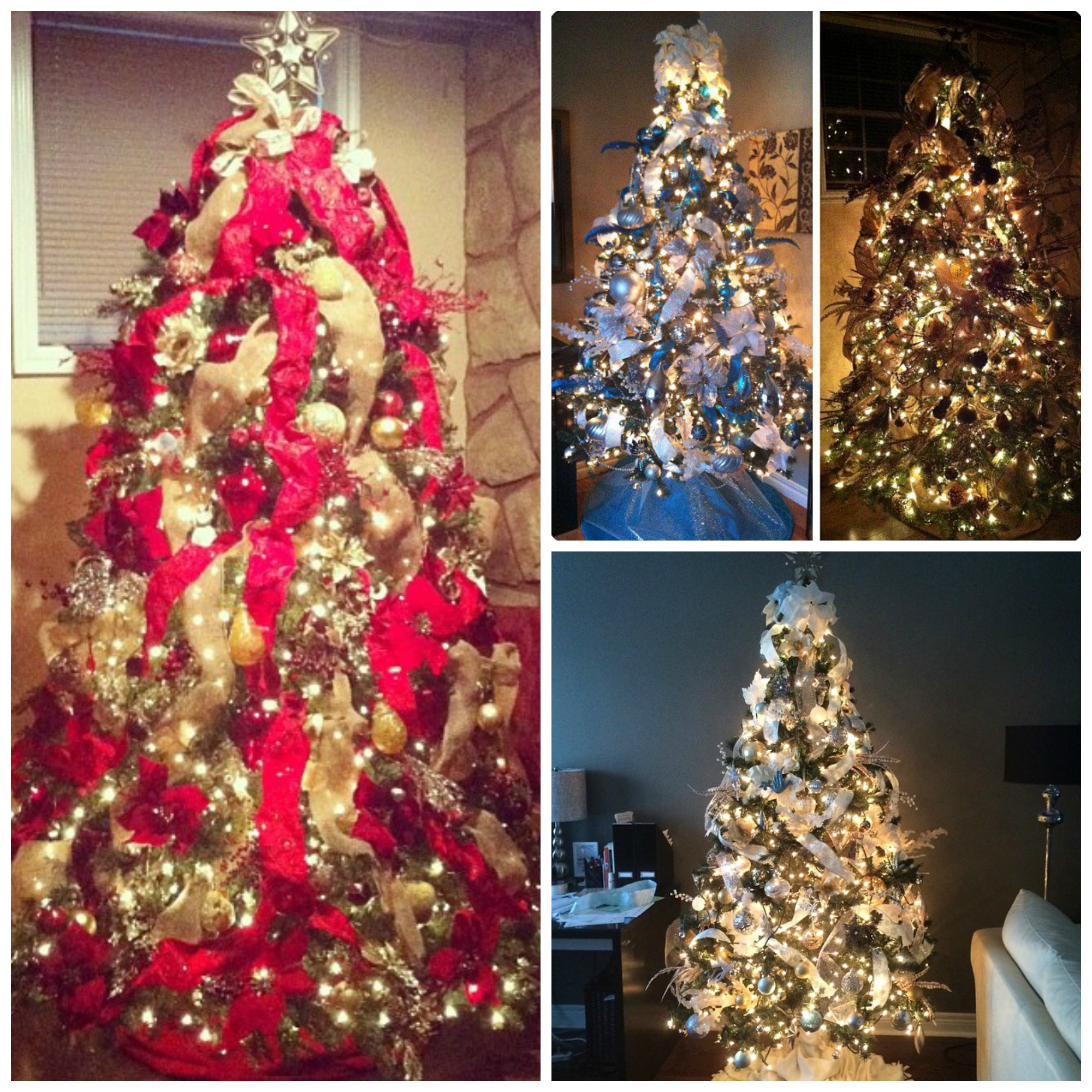 christmas trees - Ways To Decorate A Christmas Tree