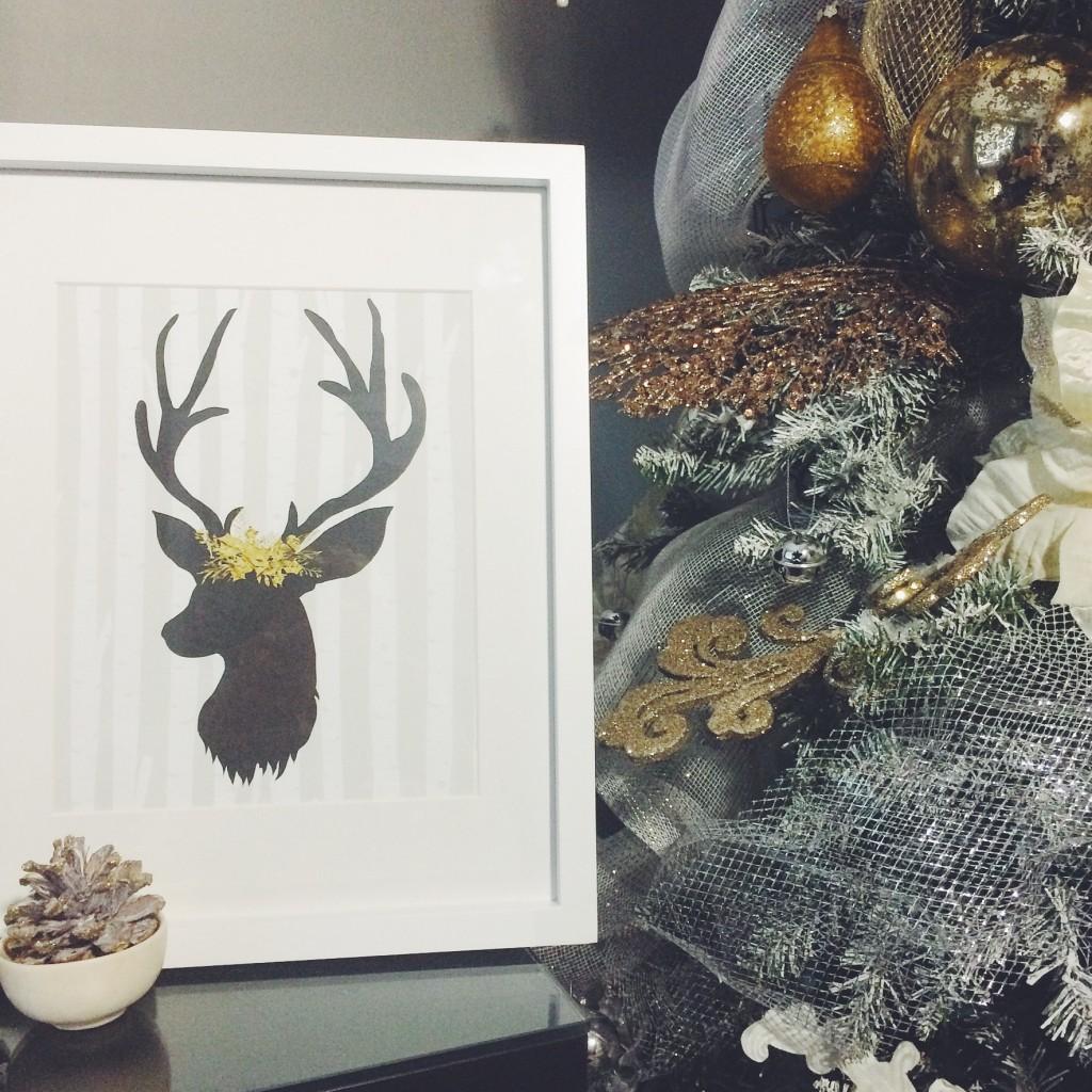 Deer Print ATC Print Shop