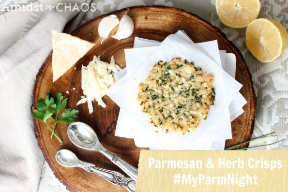 Parmsean & Herb Crisps