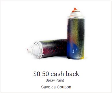 Save.ca Spray Paint Coupon