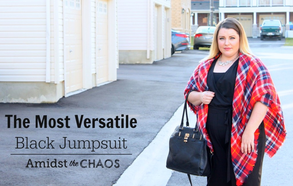 The Most Versatile Black Jumpsuit