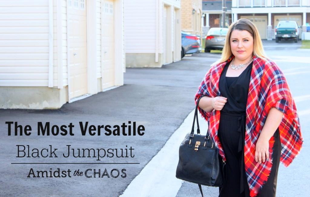 The Most Versatile Black Jumpsuit