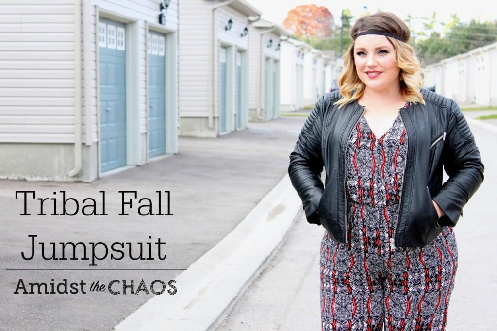 Tribal Fall Jumpsuit