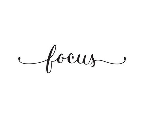 My Word for 2016: FOCUS - Amidst the Chaos