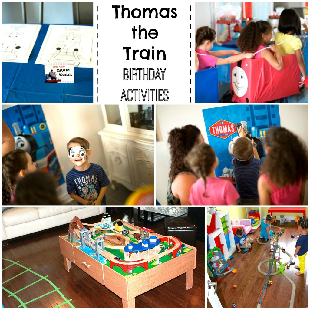 thomas the train activities