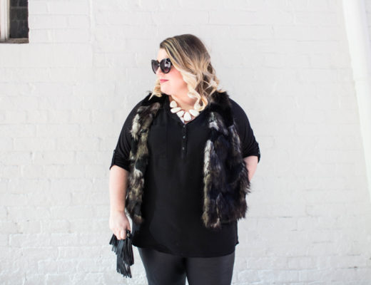 Faux Leather & Fur Fashion
