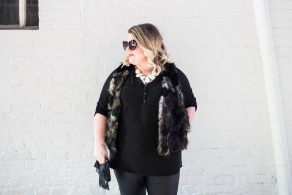 Faux Leather & Fur Fashion