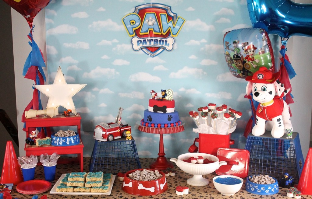 Paw Patrol Birthday Party Amidst The Chaos