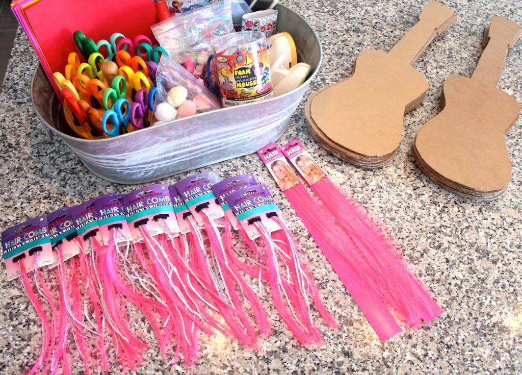 rockstar barbie birthday party