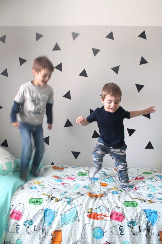 boys room makeover one room challenge