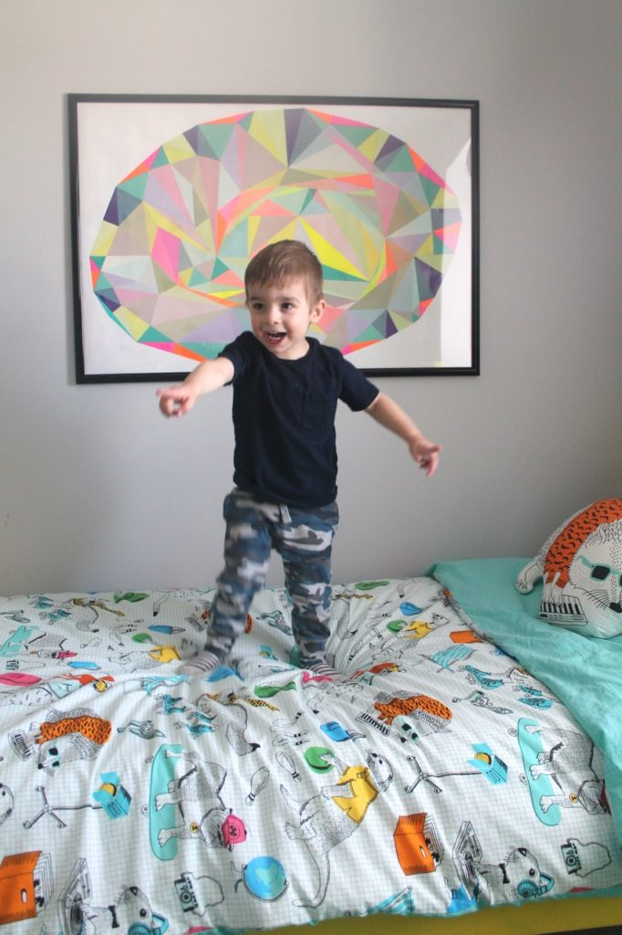 boys room makeover one room challenge