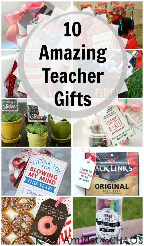 10 amazing male and female teacher appreciation gifts  sc 1 st  Amidst the Chaos & Easy u0026 Affordable Teacher Gift Ideas - Amidst the Chaos