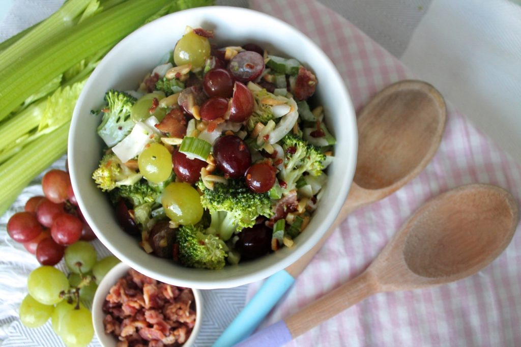 Broccoli and Grape Salad